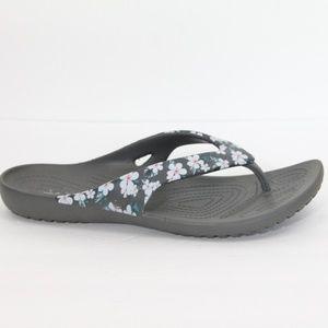 Crocs Kadee II Flip Flops sz 10 Women Hawaiian